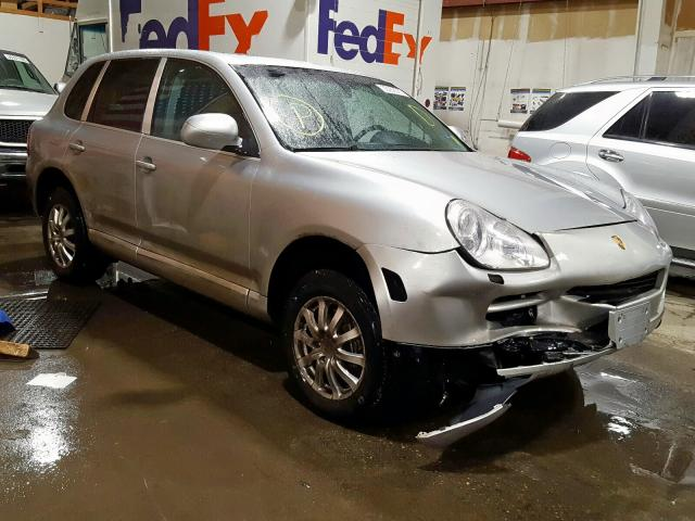 Salvage cars for sale from Copart Anchorage, AK: 2005 Porsche Cayenne