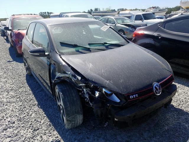 Vehiculos salvage en venta de Copart Lumberton, NC: 2011 Volkswagen GTI