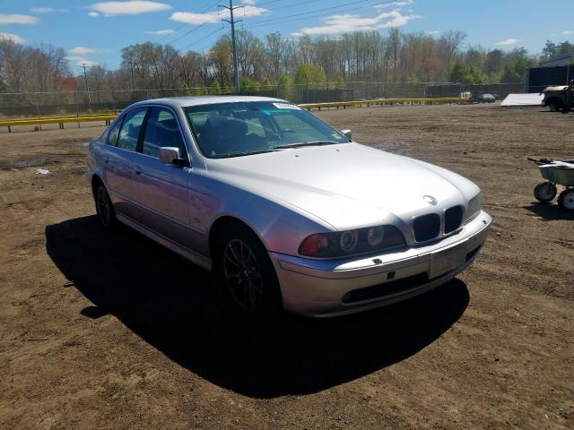 Salvage cars for sale from Copart Waldorf, MD: 2003 BMW 525 I Automatic