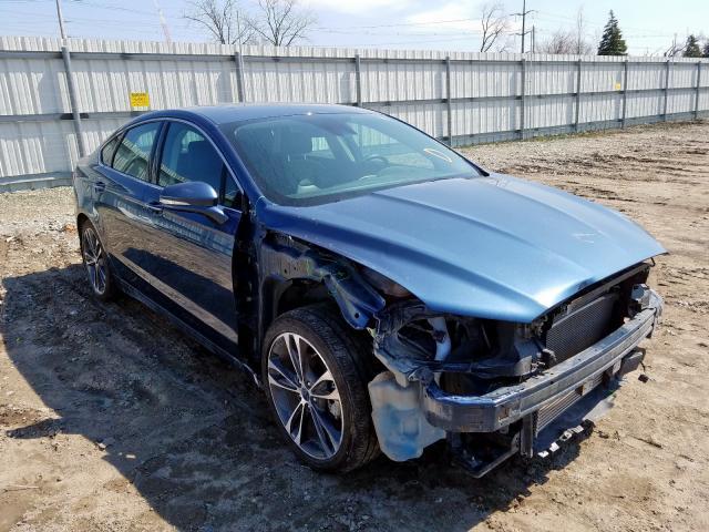 2019 Ford Fusion Titanium en venta en Lansing, MI