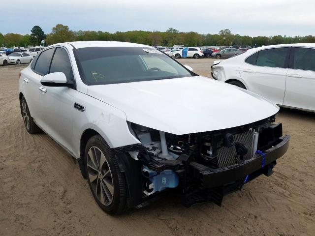 KIA salvage cars for sale: 2016 KIA Optima SX