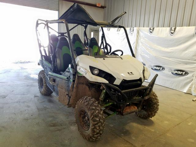 Salvage cars for sale from Copart Hurricane, WV: 2019 Kawasaki KRF800 F