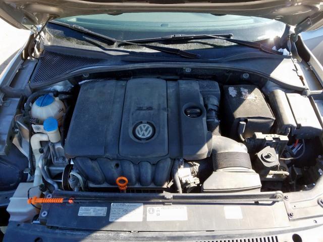 2012 VOLKSWAGEN PASSAT S 1VWAP7A3XCC030656