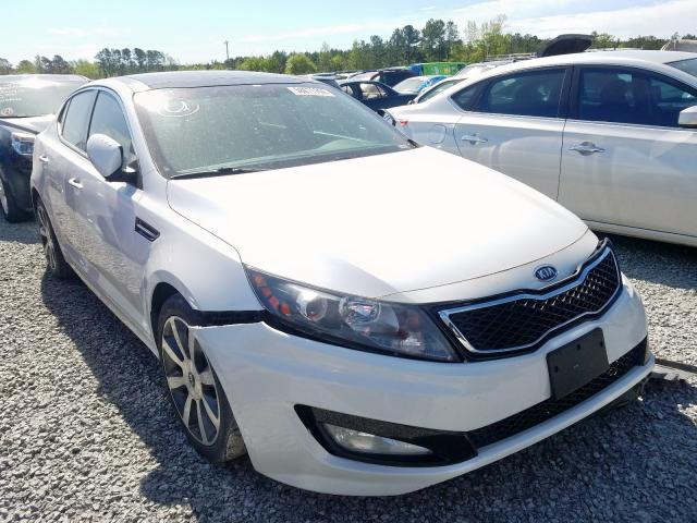 Salvage cars for sale from Copart Dunn, NC: 2012 KIA Optima SX