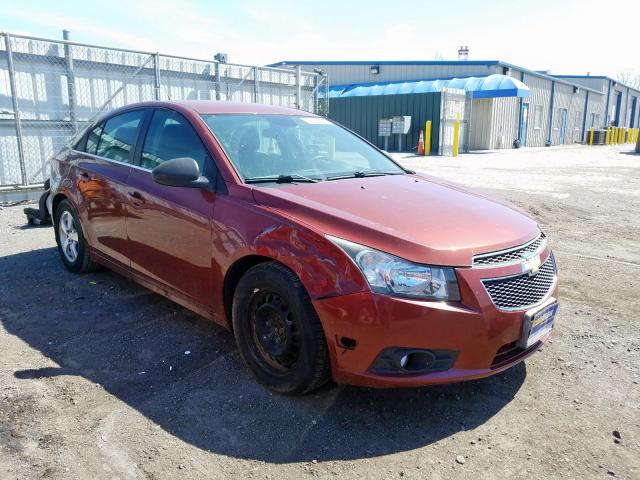 Salvage cars for sale from Copart Finksburg, MD: 2012 Chevrolet Cruze LS