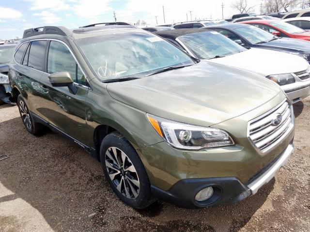 Subaru Outback 3 salvage cars for sale: 2015 Subaru Outback 3