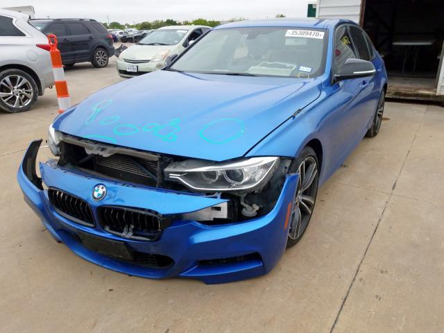 из сша 2015 BMW 335 I WBA3A9G5XFNS66490