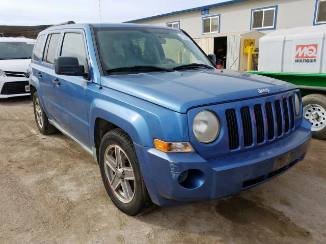 Jeep Patriot SP salvage cars for sale: 2007 Jeep Patriot SP