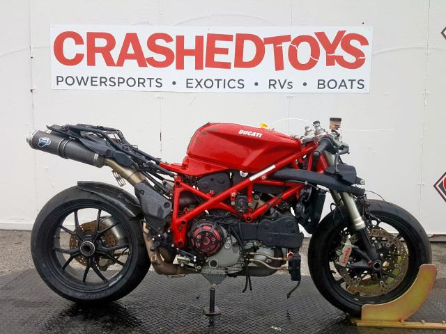 Ducati salvage cars for sale: 2008 Ducati 1098 Base