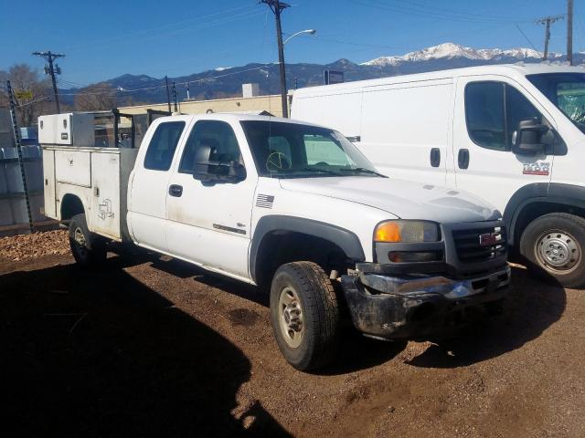 GMC Sierra K25 salvage cars for sale: 2006 GMC Sierra K25