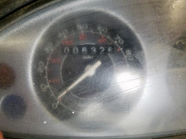 2012 VESPA PIAGGIO ZAPM578F1C4000590
