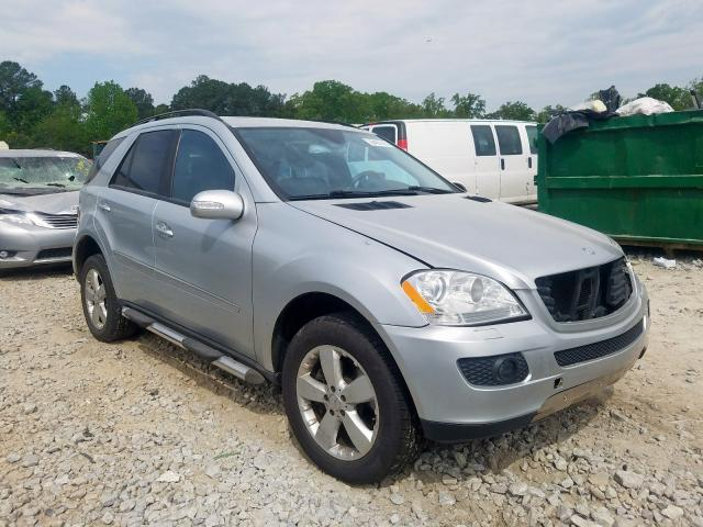 Mercedes-Benz ML 500 salvage cars for sale: 2006 Mercedes-Benz ML 500