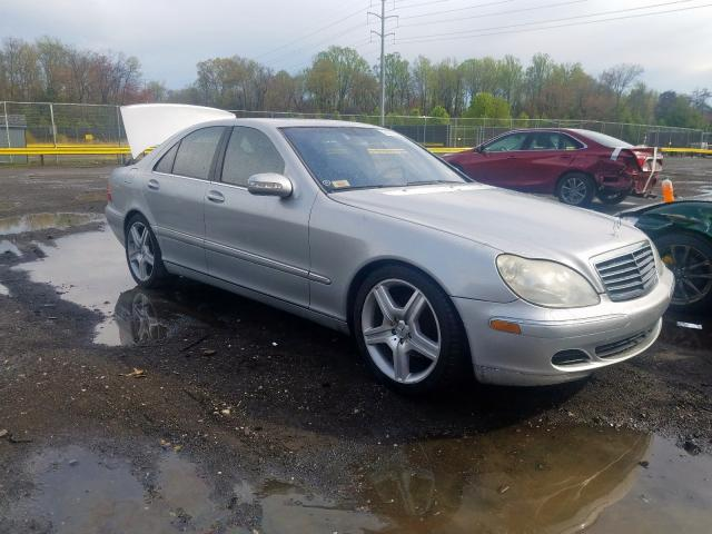 Mercedes-Benz S 350 salvage cars for sale: 2006 Mercedes-Benz S 350