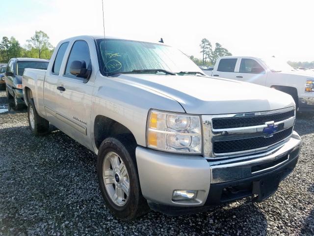 Salvage trucks for sale at Lumberton, NC auction: 2011 Chevrolet Silverado