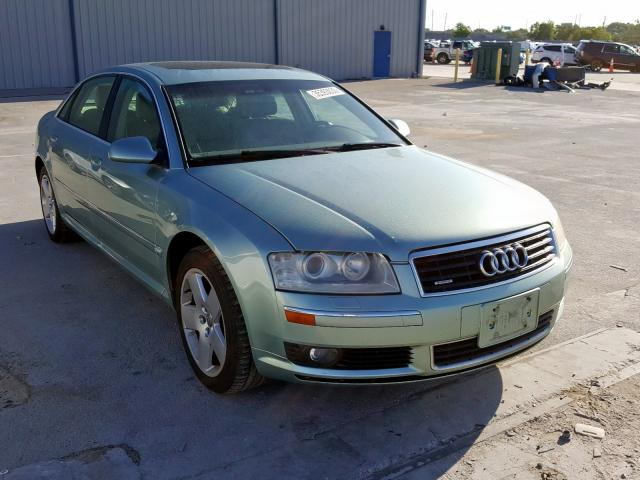 Salvage cars for sale from Copart Apopka, FL: 2004 Audi A8 L Quattro