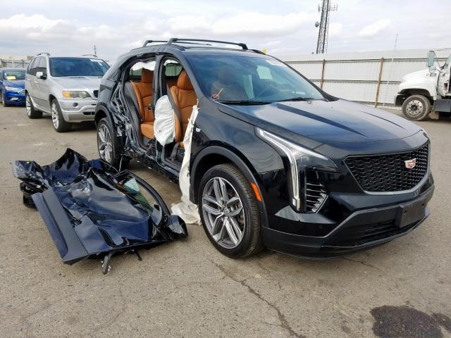 Cadillac XT4 Sport salvage cars for sale: 2019 Cadillac XT4 Sport