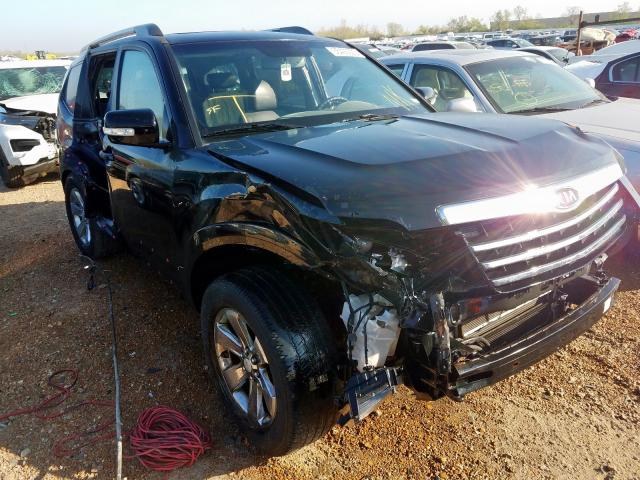 KIA salvage cars for sale: 2009 KIA Borrego LX