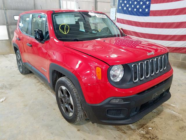 Jeep Renegade S salvage cars for sale: 2015 Jeep Renegade S