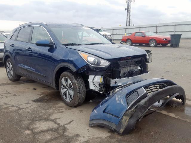KIA Vehiculos salvage en venta: 2019 KIA Niro FE