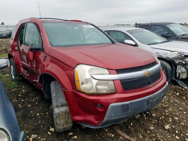 Salvage cars for sale from Copart Houston, TX: 2006 Chevrolet Equinox LT