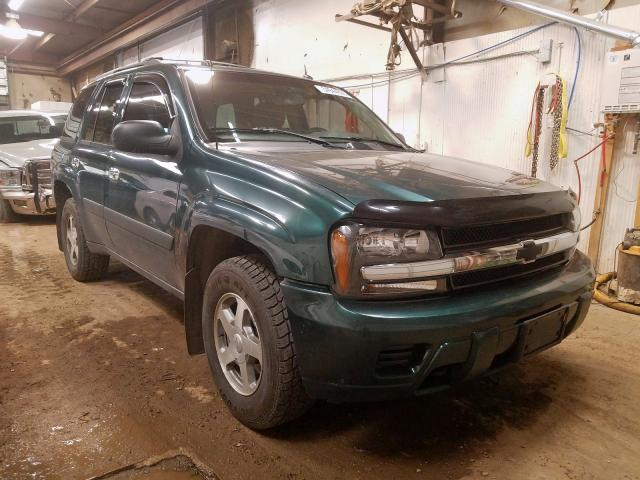 Salvage cars for sale from Copart Casper, WY: 2005 Chevrolet Trailblazer