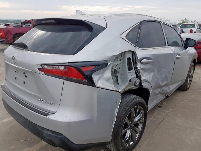 2017 Lexus NX   Vin: JTJYARBZ4H2062658