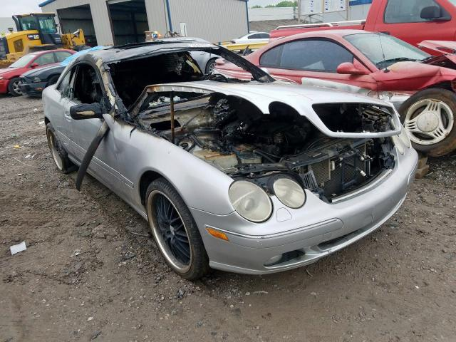 Mercedes-Benz salvage cars for sale: 2002 Mercedes-Benz CL 500