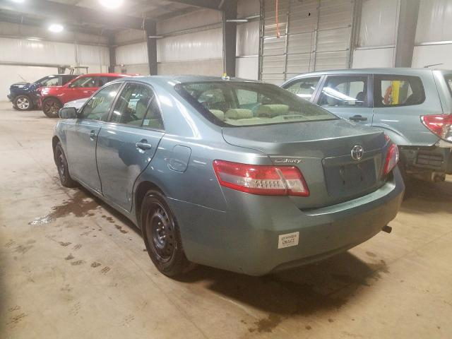 2010 TOYOTA CAMRY - Right Front View