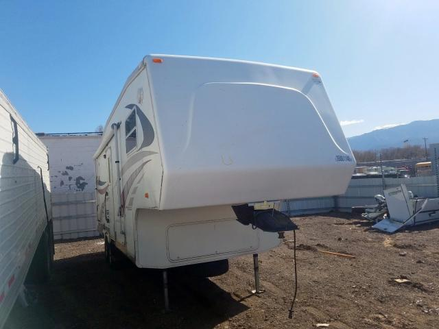Crossroads 5th Wheel salvage cars for sale: 2004 Crossroads 5th Wheel