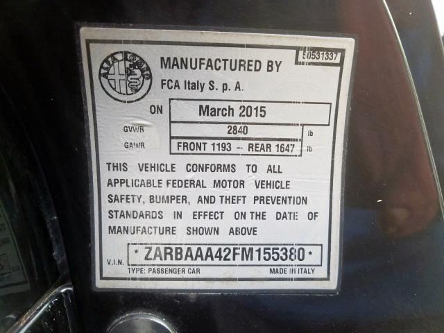 Купить Alfa Romeo 4C 2015 г. из США с доставкой и растаможкой под ключ.