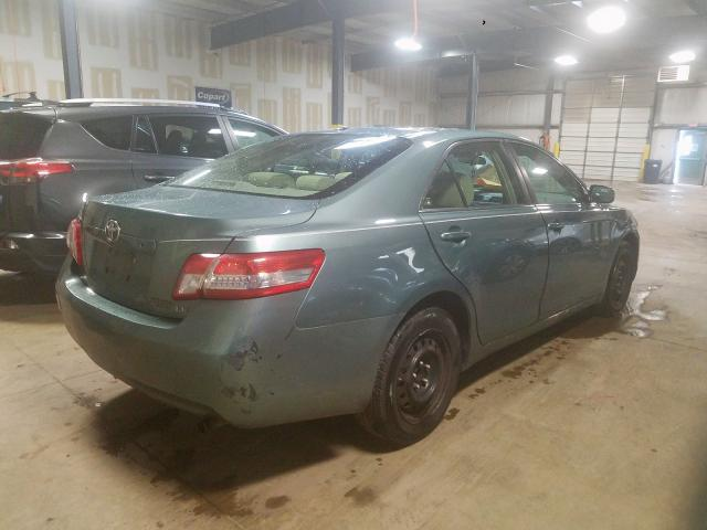 2010 TOYOTA CAMRY - Right Rear View