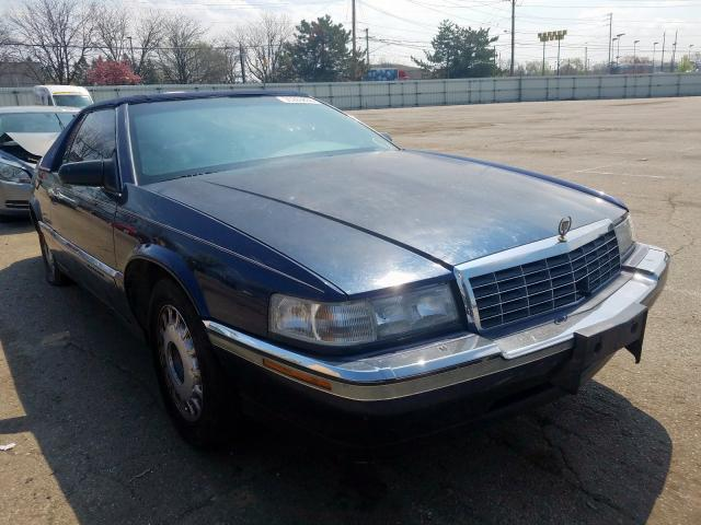 salvage title 1992 cadillac eldorado coupe 4 9l for sale in moraine oh 35263830 a better bid car auctions