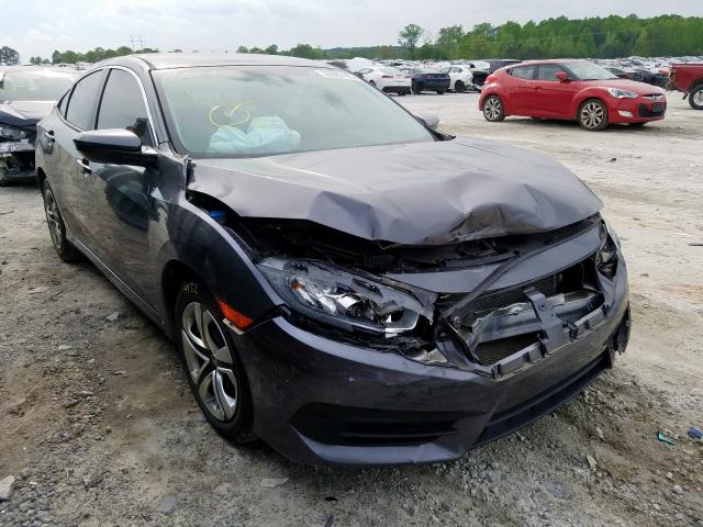 Salvage cars for sale from Copart Loganville, GA: 2016 Honda Civic LX
