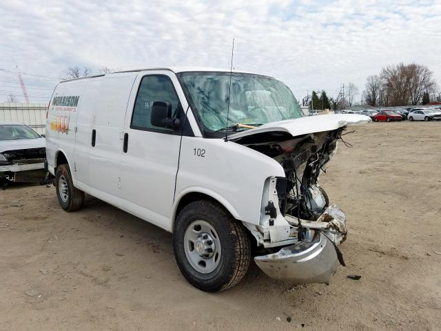 Chevrolet Express G2 salvage cars for sale: 2017 Chevrolet Express G2