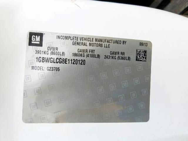 2014 Chevrolet EXPRESS   Vin: 1GBWGLCG8E1120120