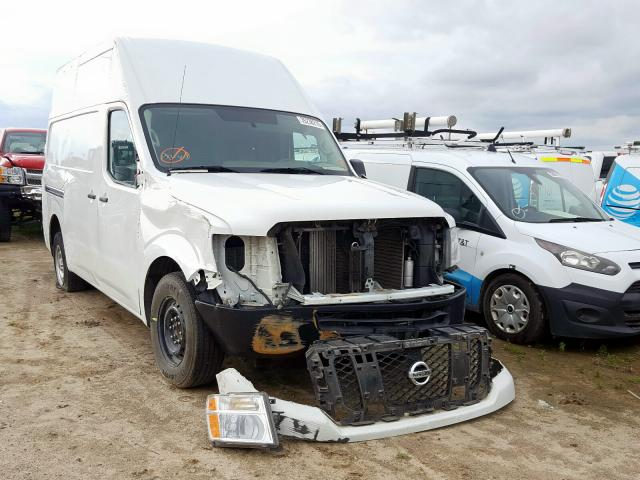 Nissan NV 2500 S salvage cars for sale: 2017 Nissan NV 2500 S