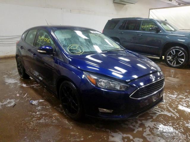 2016 Ford Focus Se 2.0L, VIN: 1FADP3K21GL301209