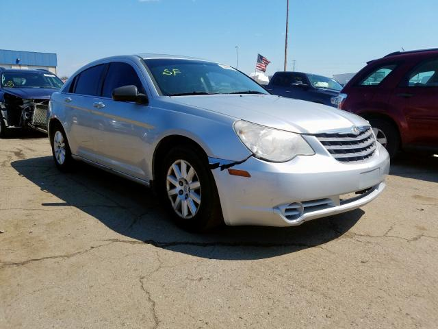 Salvage cars for sale from Copart Woodhaven, MI: 2008 Chrysler Sebring LX