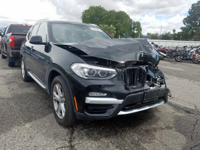 BMW X3 SDRIVE3 salvage cars for sale: 2019 BMW X3 SDRIVE3
