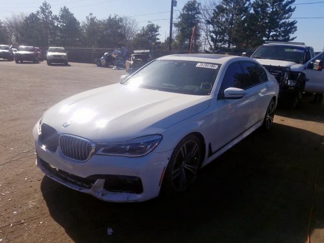 2016 BMW 7 series | Vin: WBA7F2C59GG416076