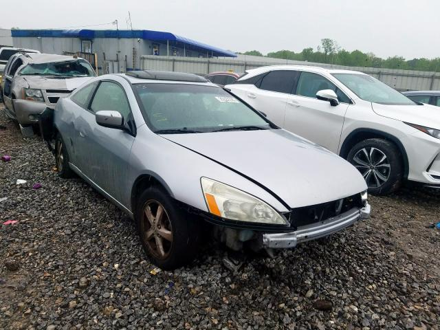 Honda Accord EX salvage cars for sale: 2003 Honda Accord EX