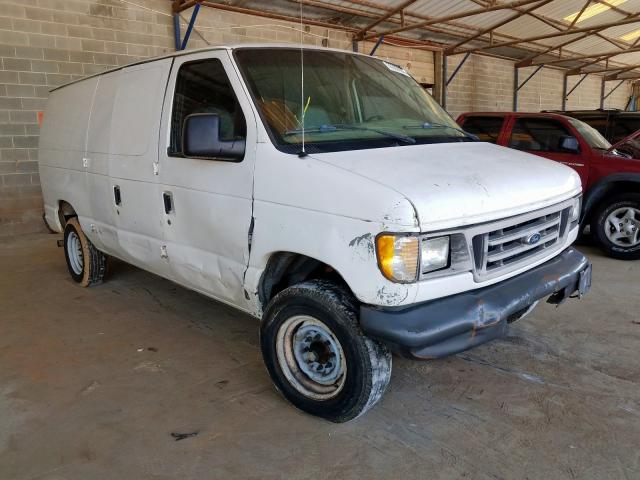 Salvage cars for sale from Copart Cartersville, GA: 2005 Ford Econoline