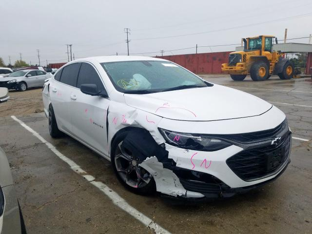 Chevrolet Malibu RS salvage cars for sale: 2019 Chevrolet Malibu RS