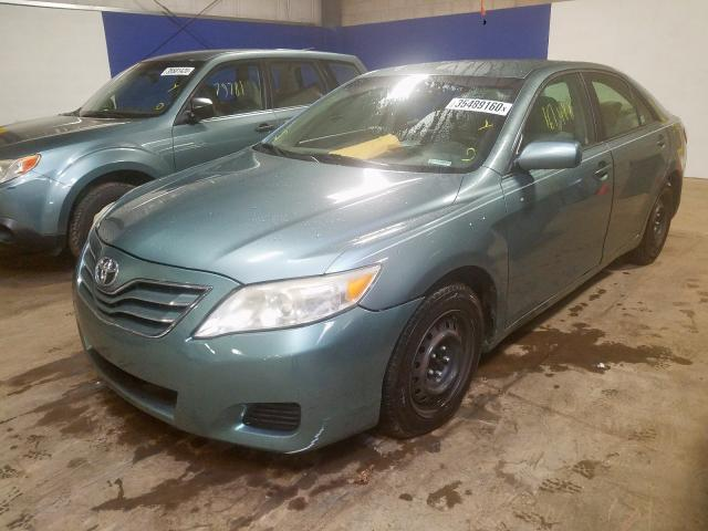 2010 TOYOTA CAMRY - Left Front View