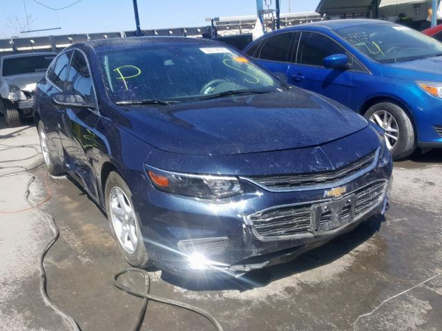 Salvage cars for sale from Copart Anthony, TX: 2018 Chevrolet Malibu LS