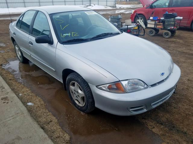 Chevrolet Cavalier salvage cars for sale: 2000 Chevrolet Cavalier