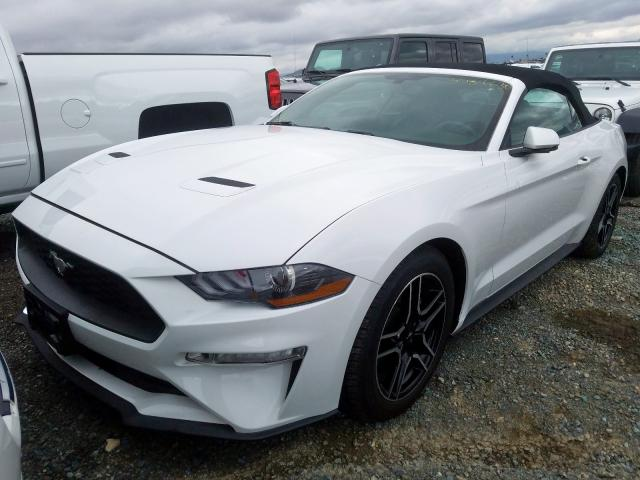 из сша 2019 FORD MUSTANG  1FATP8UH6K5104303