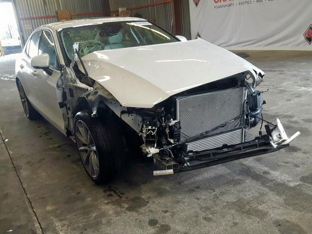 Volvo S60 T5 MOM salvage cars for sale: 2019 Volvo S60 T5 MOM