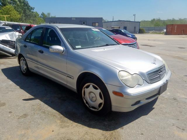 Salvage cars for sale from Copart Gaston, SC: 2003 Mercedes-Benz C 240 4matic