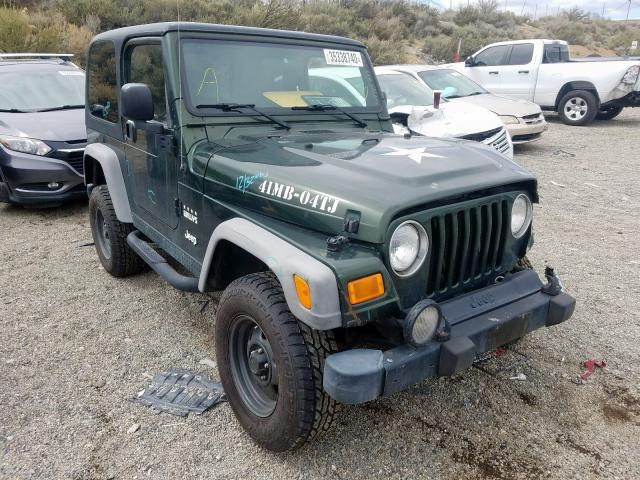 Salvage cars for sale from Copart Reno, NV: 2004 Jeep Wrangler X
